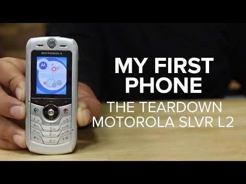 My First Phone: The Teardown (Motorola SLVR L2)