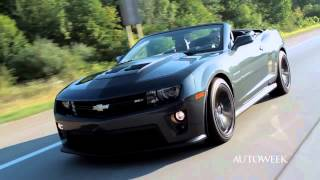 Chevrolet Camaro ZL1 Convertible 2013 Videos