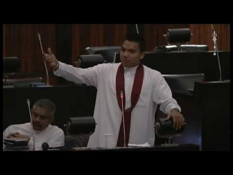 Namal Rajapaksa's Budget Speech in Parliament  - Ministry of Foreign Affairs