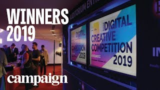 Winners of the Ocean Outdoor Digital Creative Competition 2019