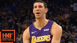 Lonzo Ball (24 pts, 5 reb, 5 ast) Full Highlights vs Warriors / Week 10 / Lakers vs GS Warriors