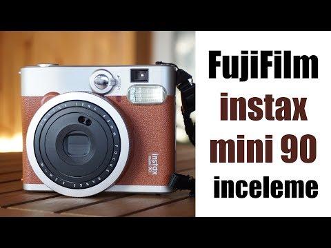 Fujifilm Instax 90 Mini Şipşak Fotoğraf Makinesi İnceleme