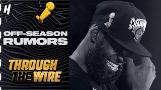 Offseason Rumors Are The Best | Through The Wire Podcast