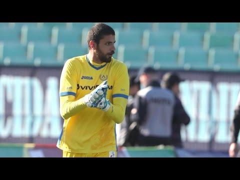 Nikolay Krastev - Levski Sofia's new goalkeeper
