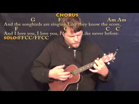 Songbird (Fleetwood Mac) Ukulele Cover Lesson in C with Chords/Lyrics