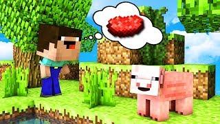 ОДИН ДЕНЬ ИЗ ЖИЗНИ СВИНЬИ В Майнкрафт! КАК ВЫЖИТЬ СВИНКЕ в Minecraft троллинг нуба Мультик для детей
