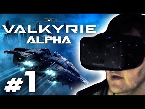EVE: Valkyrie Gameplay #1 - Let's Play VR EVE: Valkyrie auf Oculus Rift (german/deutsch) mit Facecam