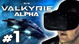 Thumbnail für das EVE: Valkyrie Alpha Let's Play