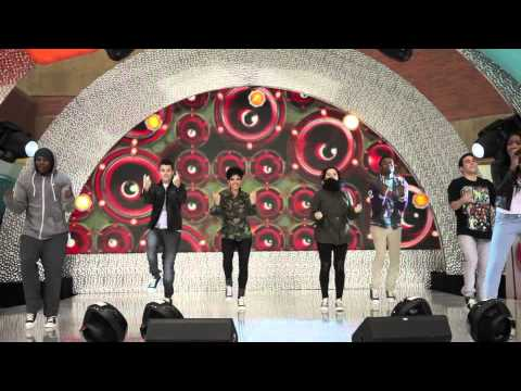 Keke Palmer Kids Choice Awards 2012 Pre-Show Rehearsal for 'Against The World'