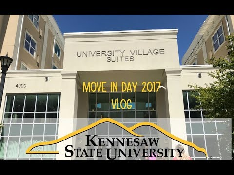 Move In Day Vlog 2017 | Kennesaw State University | Jada Cook