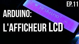 U=RI | Arduino Ep.11 - Comment utiliser un afficheur LCD?
