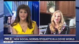 Etiquette Expert Sharon Schweitzer on WFLD-TV Fox 32 News Chicago