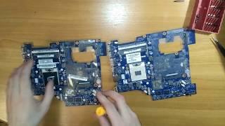 замена материнской платы в ноутбуке Lenovo G570 PIWG2 LA-6753P