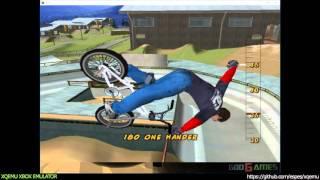 XQEMU Xbox Emulator - Dave Mirra Freestyle BMX 2 Ingame!