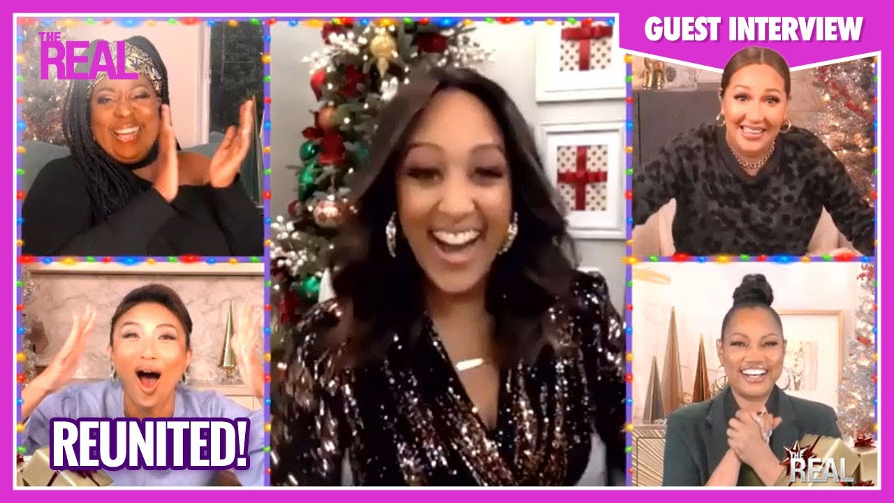 Part One: Tamera Mowry-Housley Reveals What She Misses Most About Adrienne, Loni, and Jeannie!