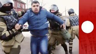 درگیری پلیس روسیه با کولیها؛ جنوب روسیه