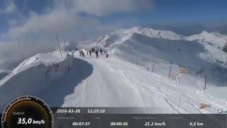 Kasprowy Wierch idealne warunki na narty Marzec 2016