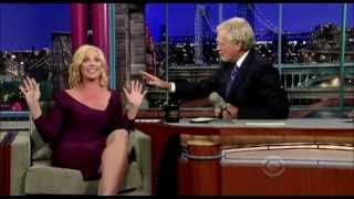 Katherine Heigl smokes an Electronic Cigarette live on the David Letterman show!