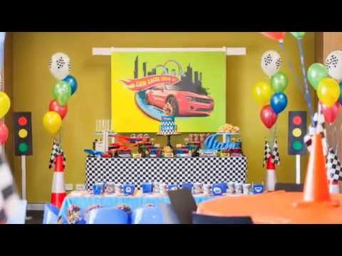 Hot Wheels 2nd Birthday Party Via Little Wish Parties Childrens Blog