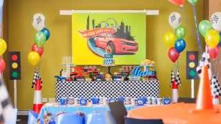 Hot Wheels 2nd Birthday Party via Little Wish Parties childrens party blog