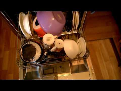 Как пользоваться посудомоечной машиной канди видео