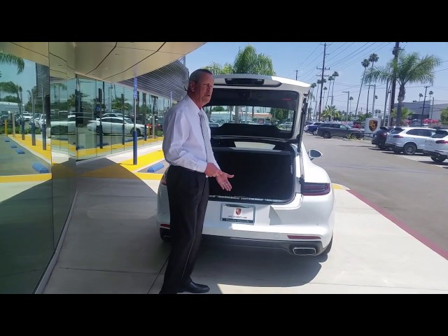How to Set Porsche Liftgate Height | Porsche Dealer Serving Los Angeles