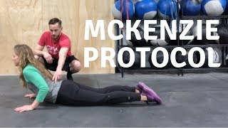Possible Disk Injury? Try the McKenzie Protocol