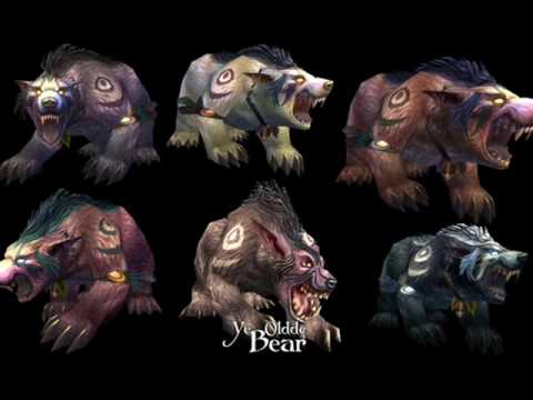 New druid bear form skins - YouTube