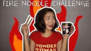 FIRE NOODLE Challenge! | Bisaya Edition