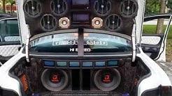 """Car Audio Qmobile 12"""" woofer Triple Magnet Double Coil"""