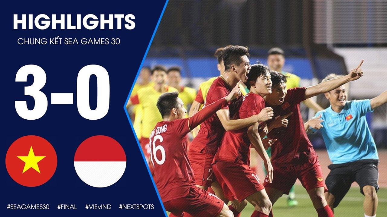 Highlights U22 Việt Nam vs U22 Indonesia | Kỳ Tích 60 Năm Lịch Sử Việt Nam Lần Đầu Vô Địch Sea Games