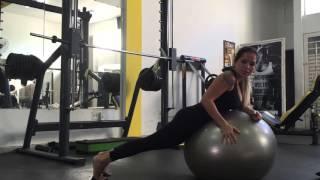 Baixar Exercício para Lombar (Bola)