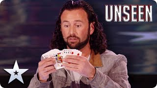 OMG! MAGIC man Sean Heydon WOWS with TIME TRAVELLING trick! | BGT: UNSEEN