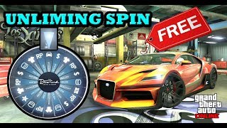 *LUCKY WHEEL SPIN GLITCH* GET ANY CASINO CARS FOR FREE IN GTA 5 ONLINE (FREE THRAX/S80RR & MORE)