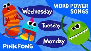 Seven Days  English Word Song  Word Power  Pinkfong Songs for Children