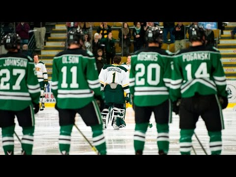 Men's Hockey: Vermont vs. #1 North Dakota (10/23/15)