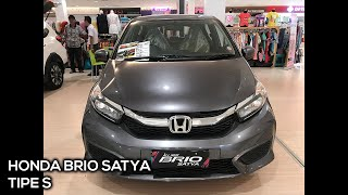 Honda Brio Satya S 2019 - Exterior and Interior Walkaround