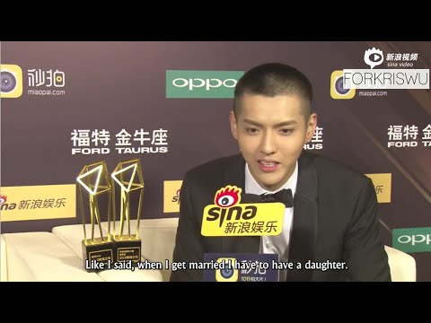 [ENG] 160107 Weibo Night Interview with Kris Wu