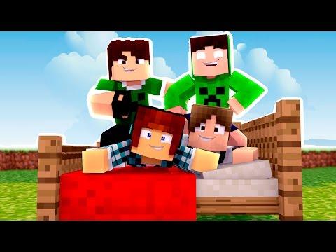 Minecraft: ESPECIAL FAMILIACRAFT !! (Bed Wars)