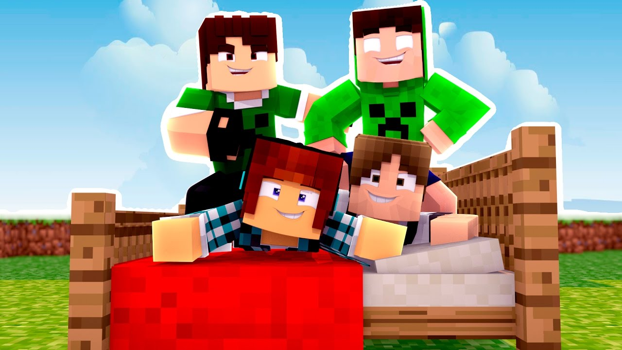 Minecraft ESPECIAL FAMILIACRAFT Bed Wars YouTube
