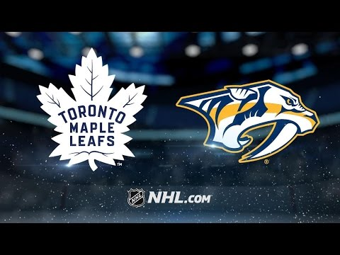 Andersen, Matthews lead Leafs past Preds, 3-1
