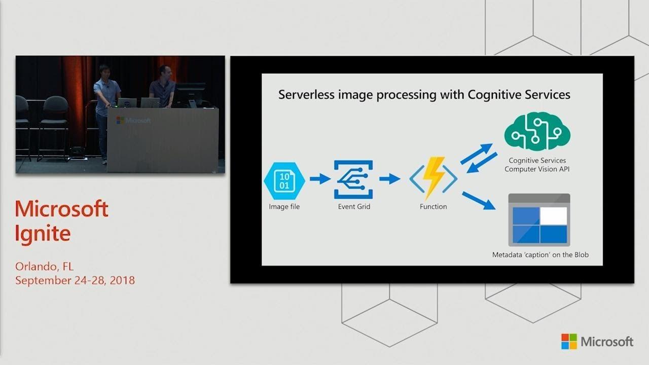 Serverless compute architectures with Azure Blob Storage - BRK3381