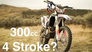 300 4 Stroke?  You Must Be Joking, Right? First Ride on the Sherco 300 SEF R  - Episode 234