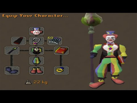 Clown goes Pking...