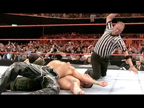 John Cena faces Shawn Michaels in non-title WrestleMania rematch: Raw, April 23, 2007