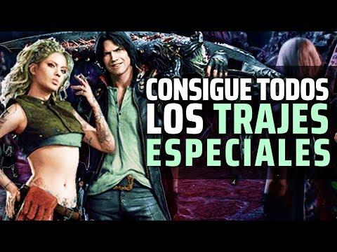 DEVIL MAY CRY 5 | Consigue TODOS LOS TRAJES EX ESPECIALES (ALTERNATIVOS) del JUEGO thumbnail