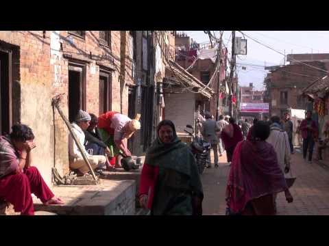 NEPAL BHAKTAPUR STREETS LIVE