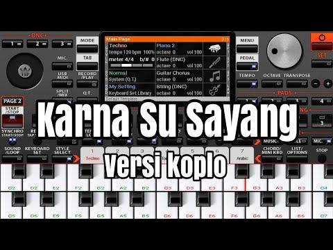 Karna Su Sayang Versi Koplo Cover ORG 2019
