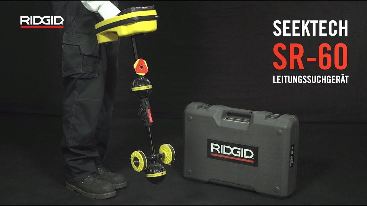 ridgid seektech sr-60 leitungssuchgerät - youtube