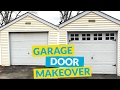DIY Garage Door Makeover